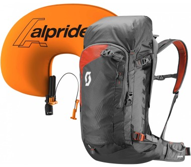 Scott - Backcountry Guide AP 40 avalanche backpack (grey/orange)