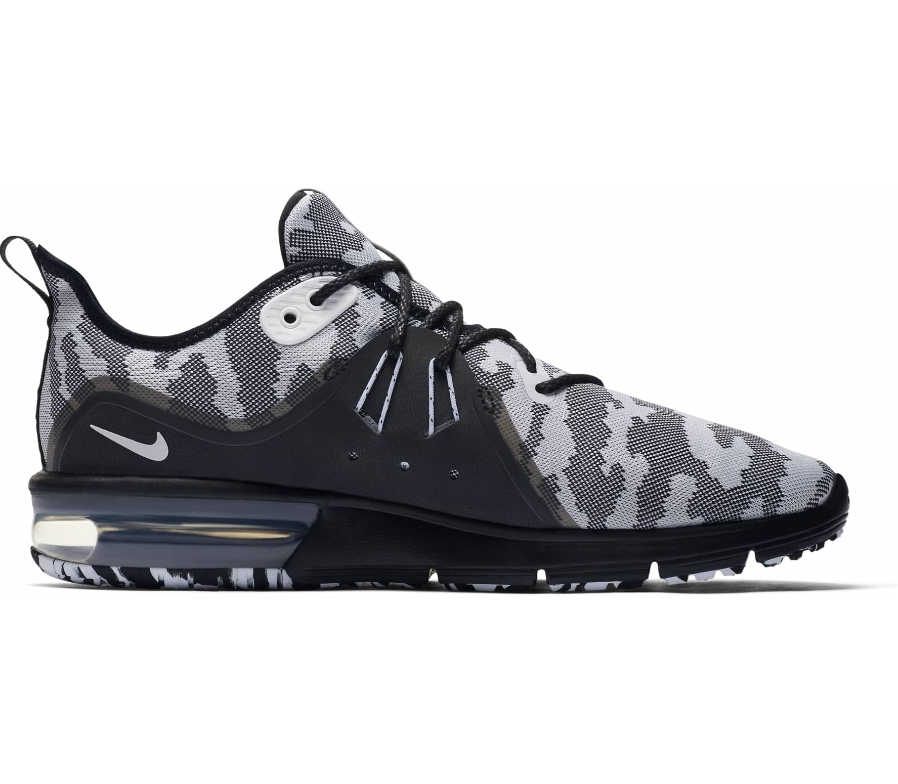 timeless design ea75a 5c52b Nike - Air Max Sequent 3 men s running shoes (black)