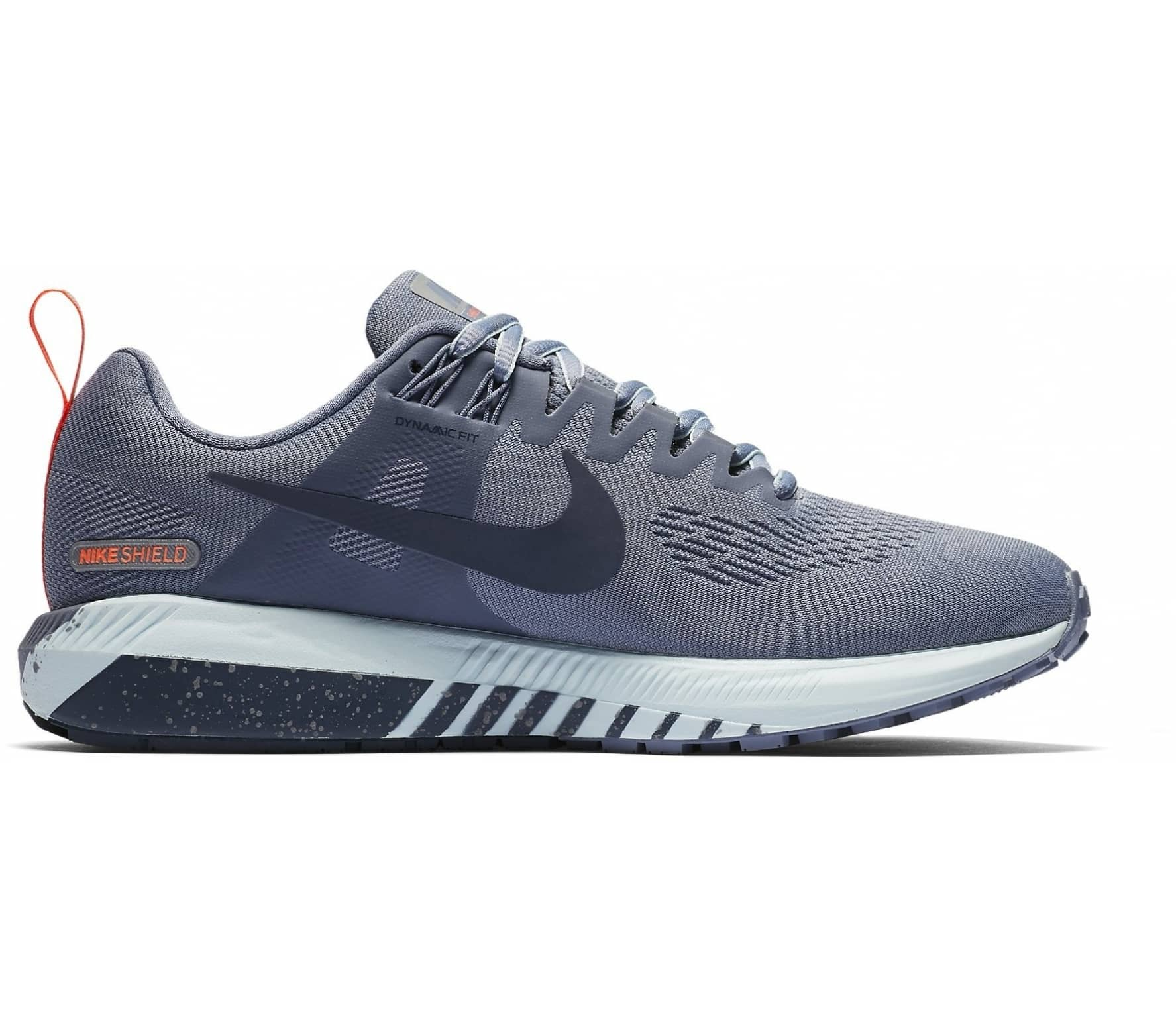 Nike - Air Zoom Structure 21 Shield Mujer Zapatos para correr (azul gris) 347e94799aa8b