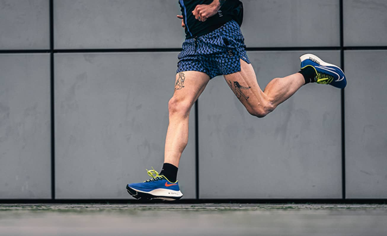 Discounted running shoes
