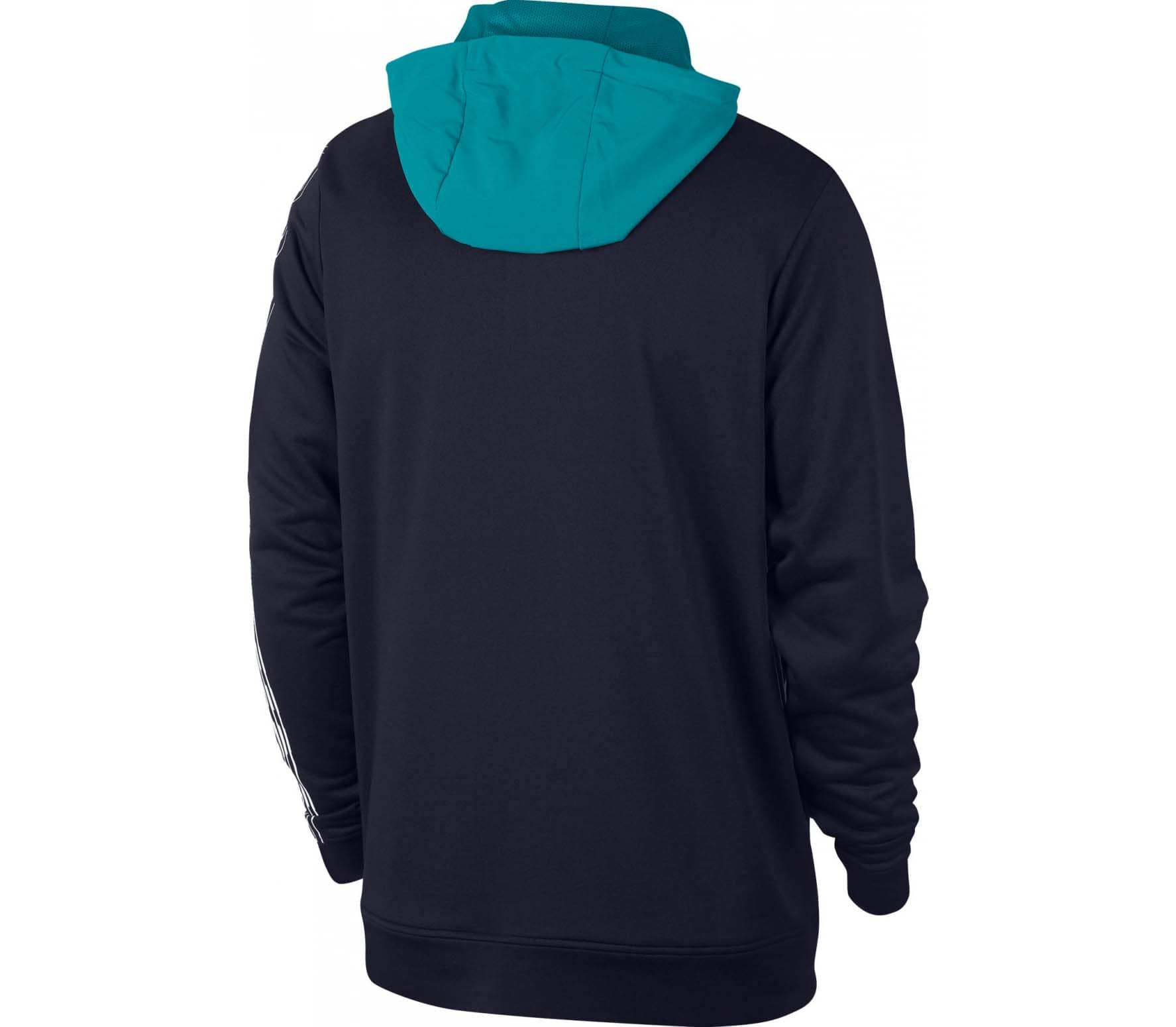Nike - Dri-FIT Fleece Herren Trainingshoodie (blau)