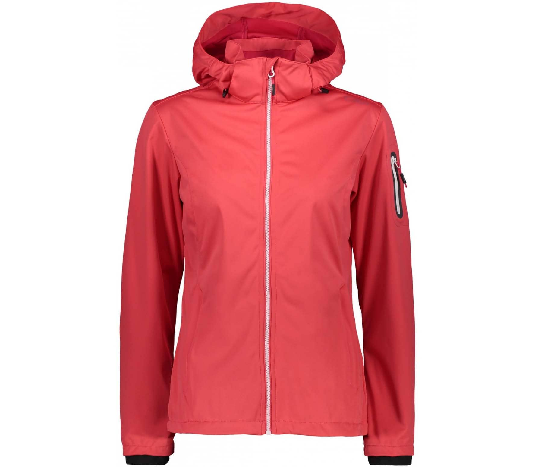 CMP Women's softshell jacket (red)