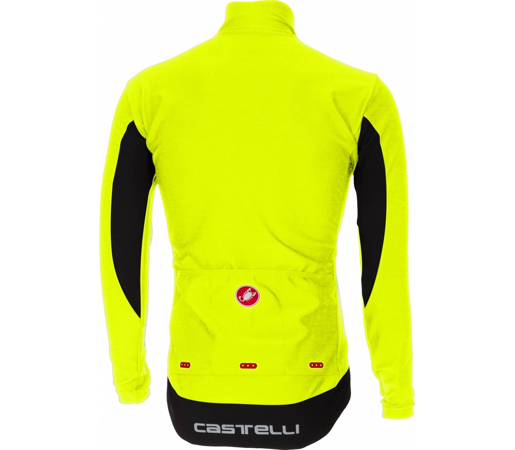 Castelli - Perfetto Long sleeve men s Bike jersey (yellow) - buy it ... 381408602