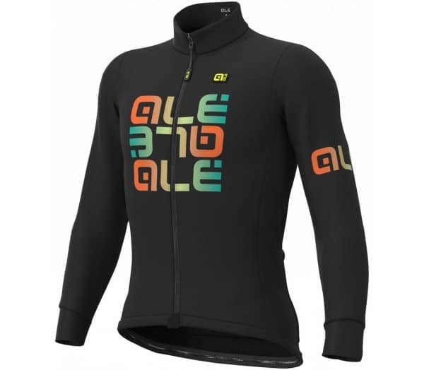 ALÉ Solid - Mirror Winter Men Cycling Jersey - 1