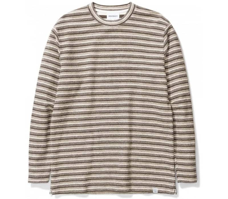 Johannes Texture Stripe Long-sleeve