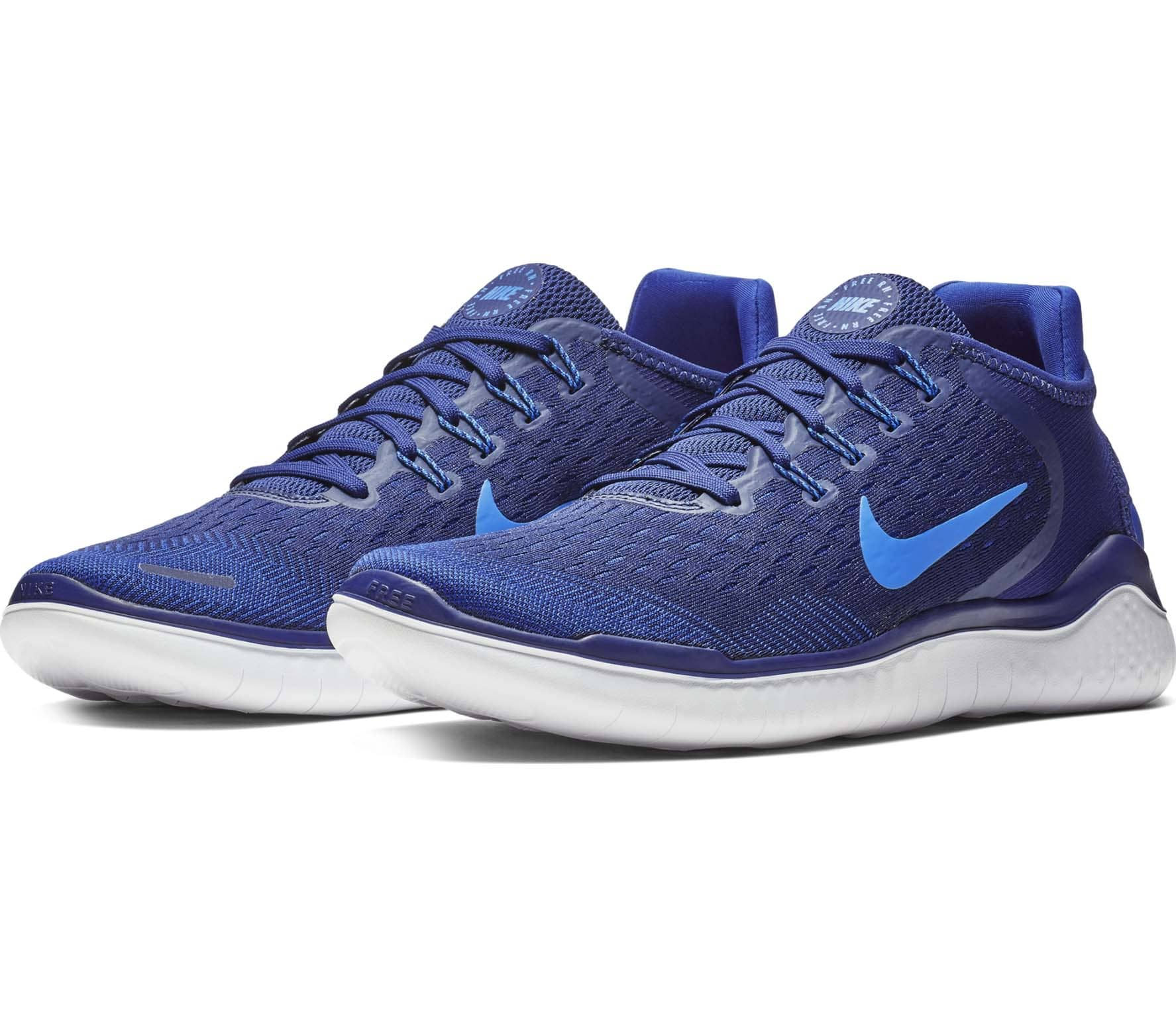 nike free rn 2018 herren laufschuh blau im online shop. Black Bedroom Furniture Sets. Home Design Ideas