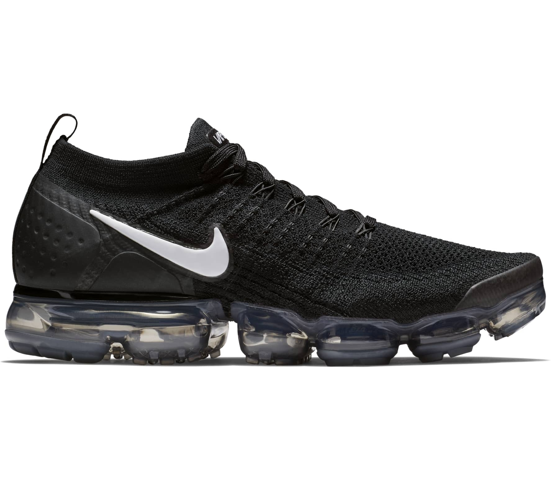 7d605ca1e2 Nike - Air VaporMax Flyknit 2 men's running shoes (black) - buy it ...