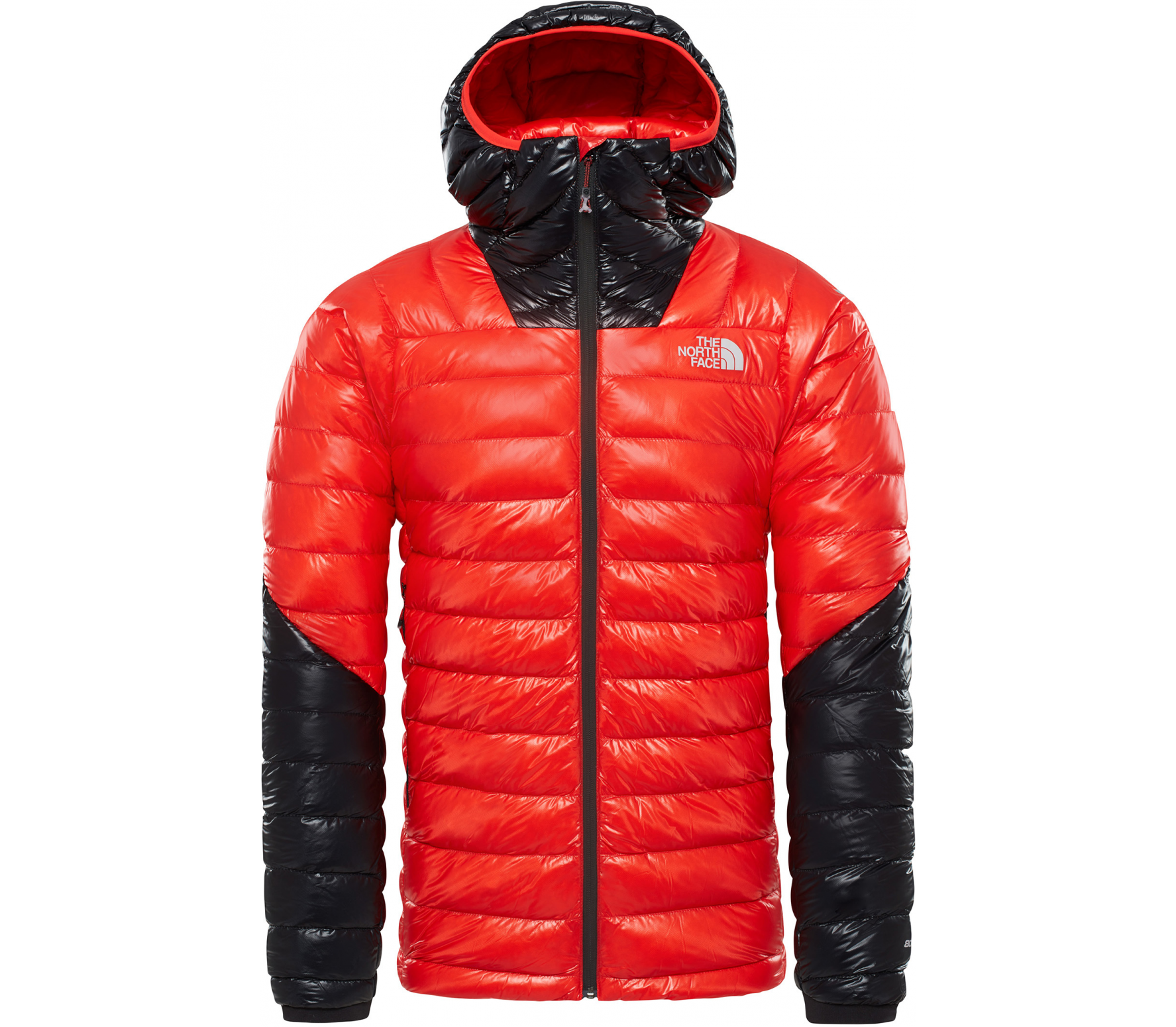 26b9ecdb46b3 The North Face - Summit L3 men s down jacket (red black) - buy it at ...
