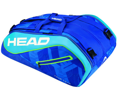 Head - Tour Team 12R Monstercombi Tennistasche (hellblau/dunkelblau)