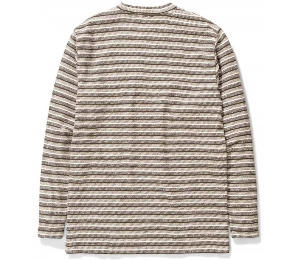 Johannes Texture Stripe Long Sleeve