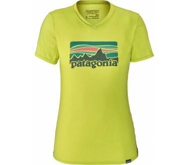 Patagonia - cap Daily Graphic women's functional top (light yellow)