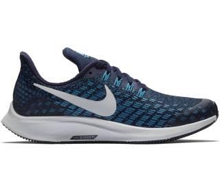 Nike - Air Zoom Pegasus 35 Bambino scarpe da corsa (blu scuro/nero)