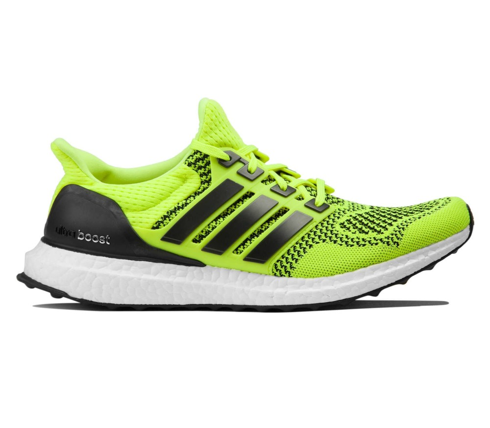 separation shoes e9275 b725c Adidas - Ultra Boost Hombre Zapatos para correr (amarillo)