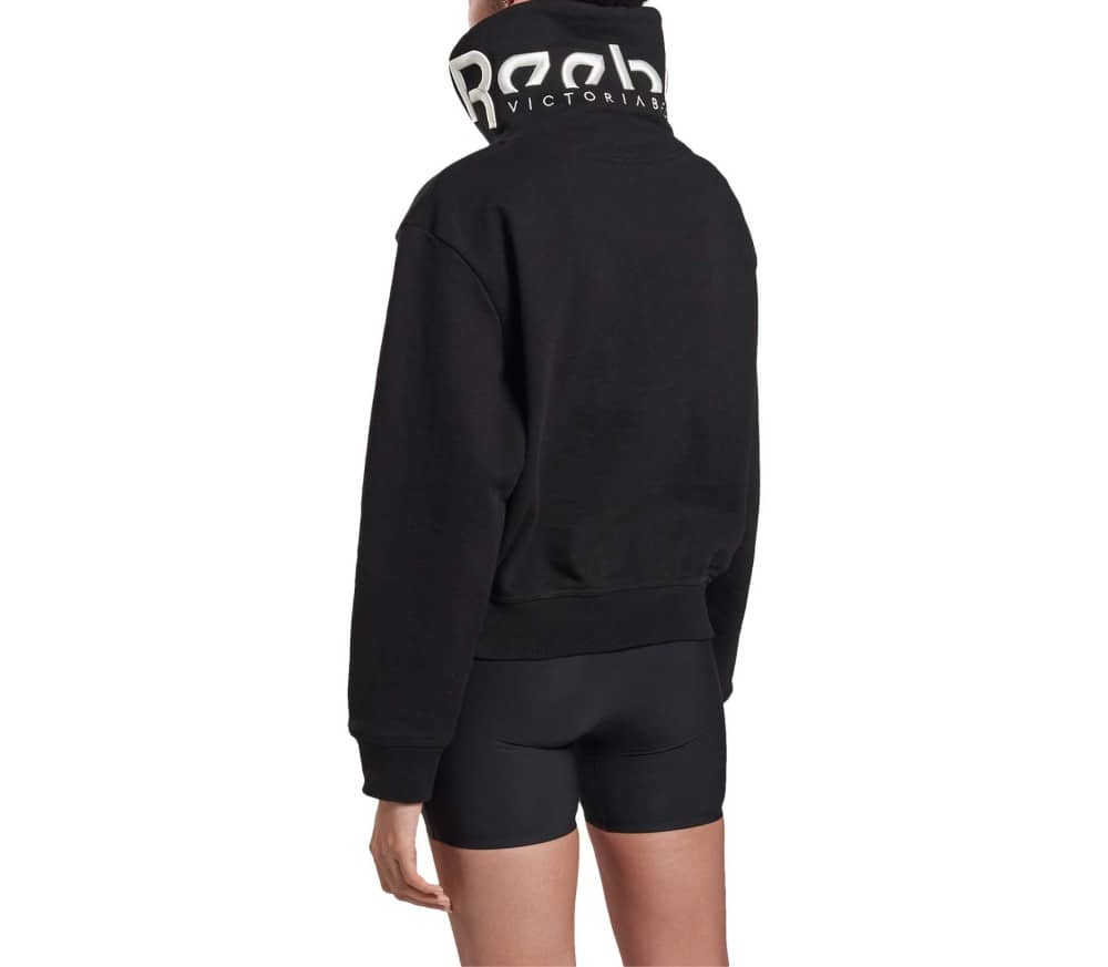 Cropped Cowl Women Sweatshirt