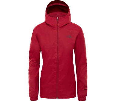 The North Face - Quest women's outdoor jacket (red)