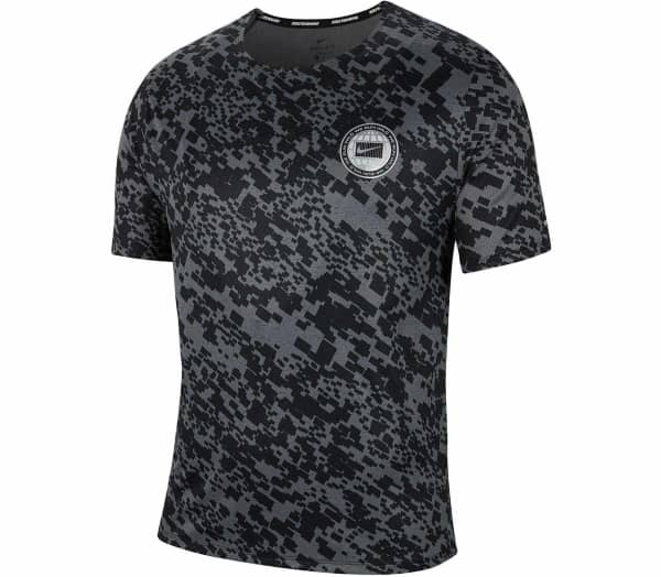 NIKE Dri-FIT Miler Wild Run Men Running Top - 1