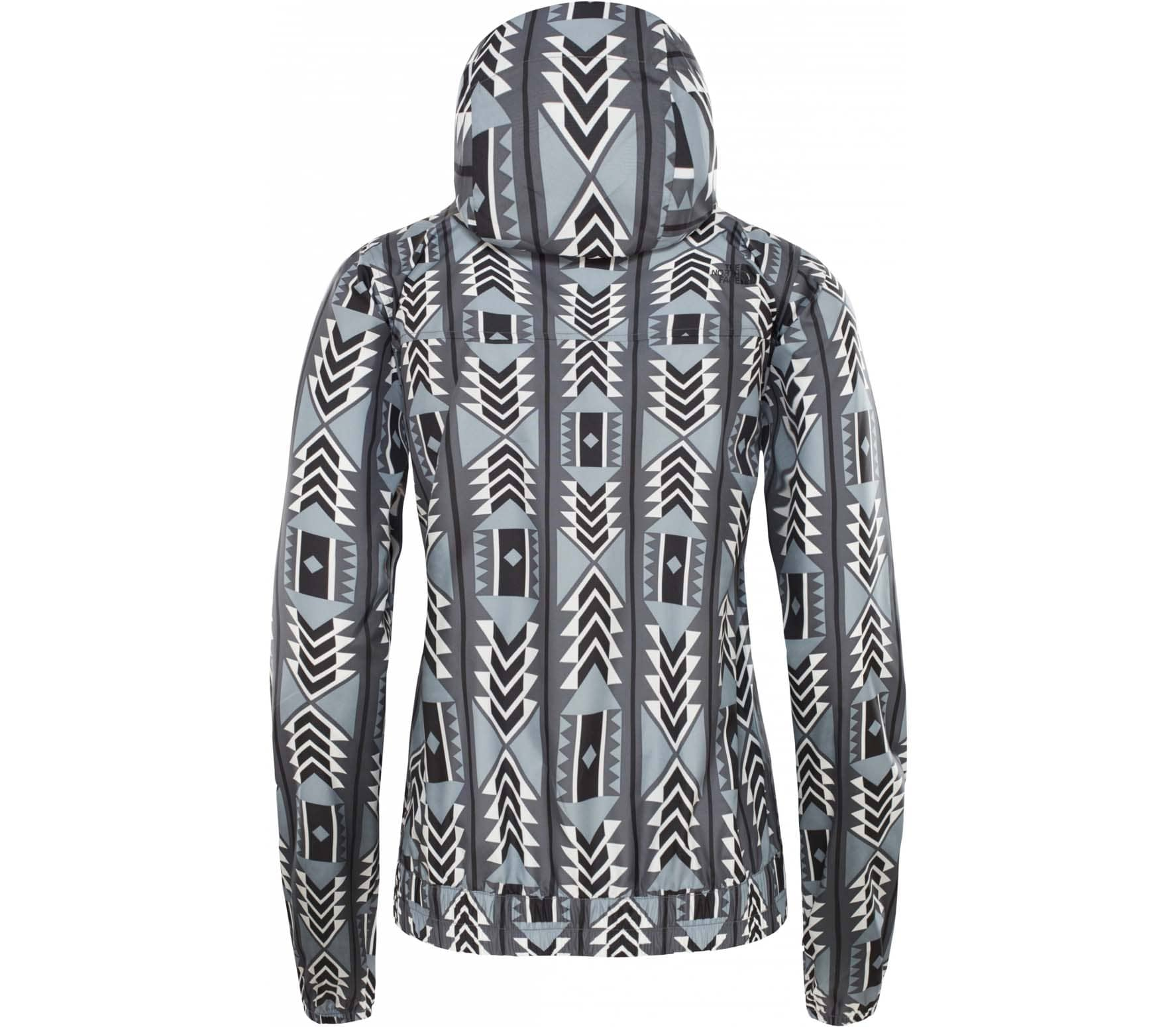 the north face printed cyclone damen jacke wei online. Black Bedroom Furniture Sets. Home Design Ideas