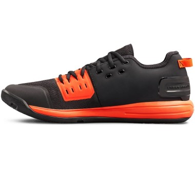 Under Armour - Charged Ultimate 3.0 men's training shoes (black/red)