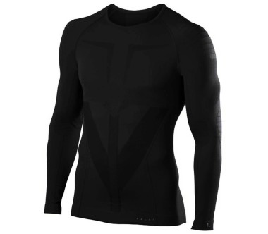 Falke Longsleeved Shirt Tight Fit Uomo nero