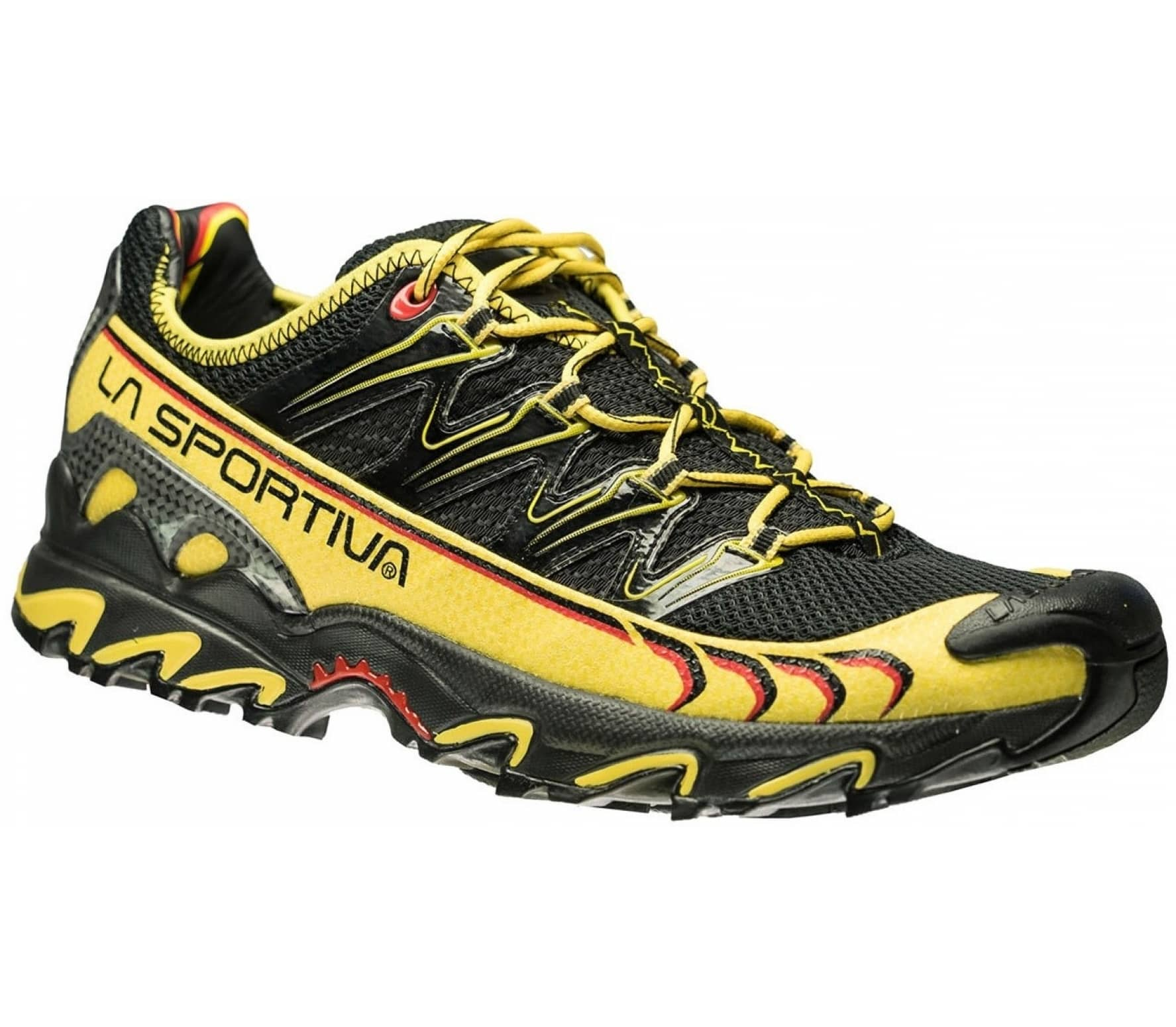 La Sportiva - Ultra Raptor men s trail running shoes (black yellow ... 4cfe2ae9861