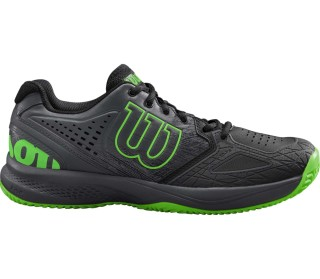 buy popular a6cba 3a892 Wilson - Kaos Comp 2.0 men s tennis shoes (black green)