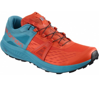 Salomon - Ultra Pro Herren Laufschuh (blau/orange)