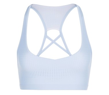 Lorna Jane - Chic Sports women's training bra (light blue)