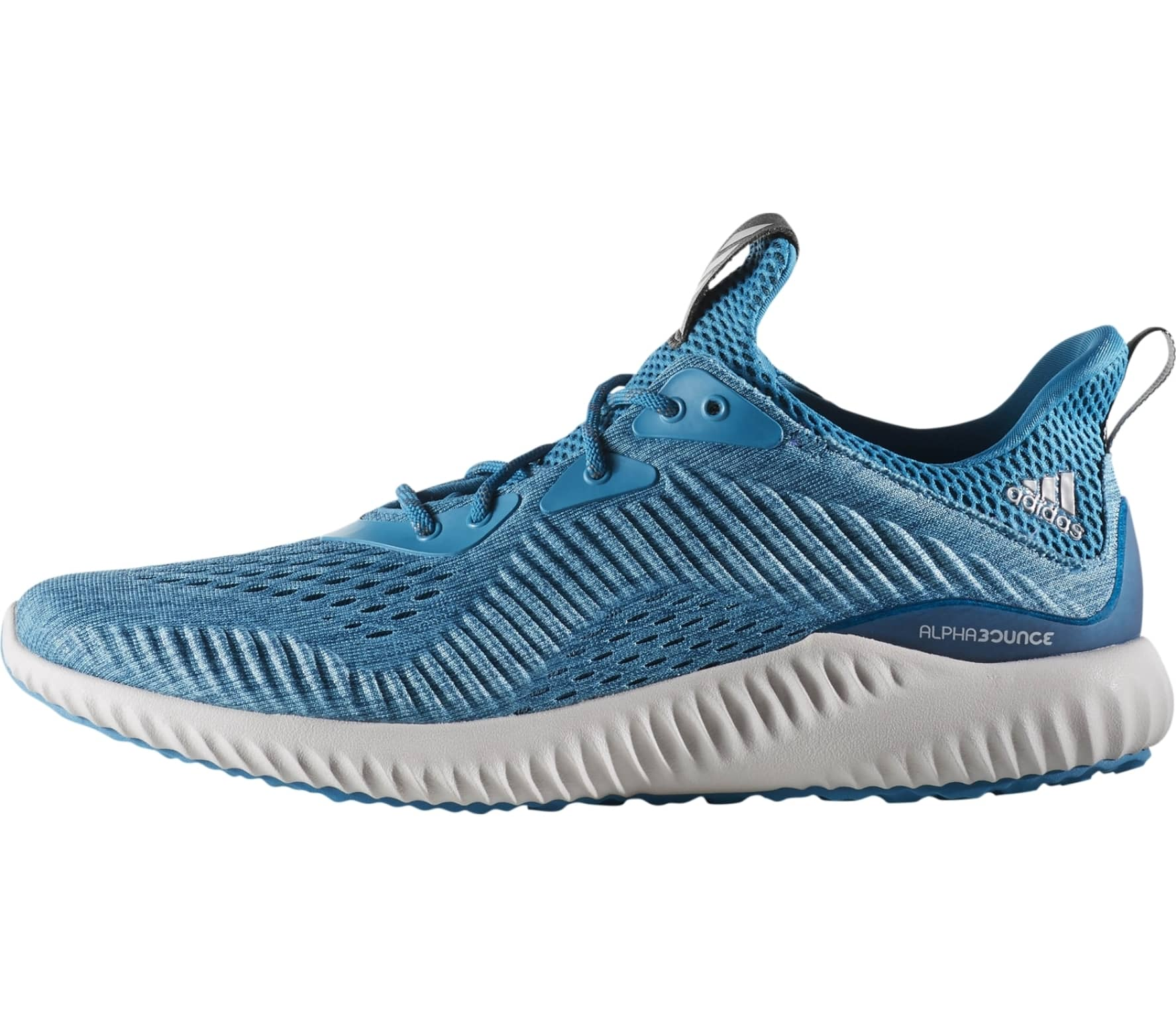 aeda02f59e0b Adidas - Alphabounce Em men s running shoes (light blue) - buy it at ...