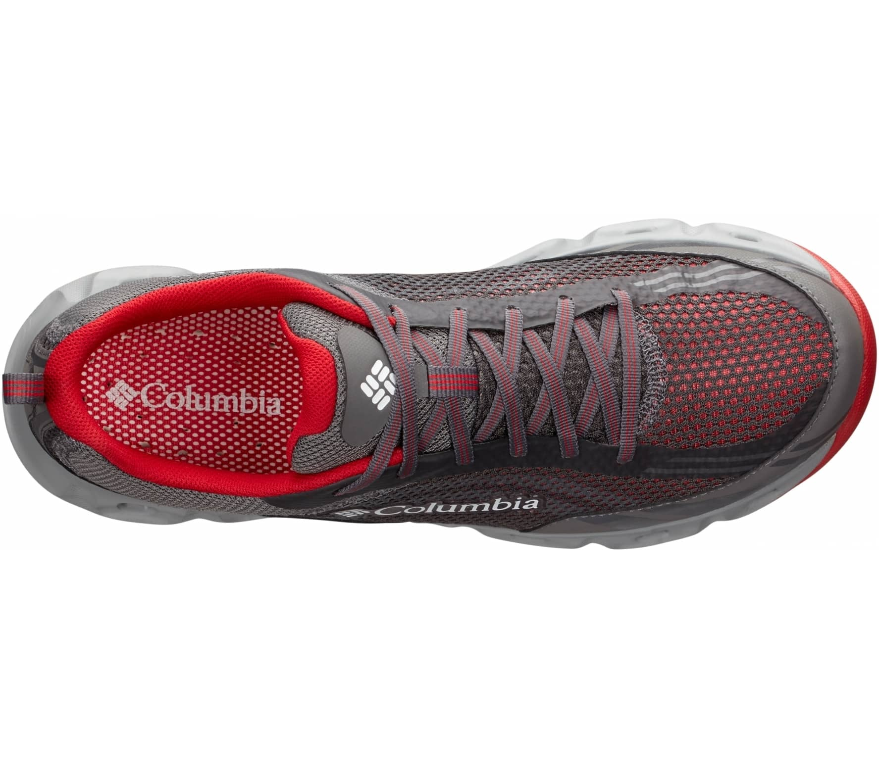 Columbia - Drainmaker IV men s hiking shoes (grey red) - buy it at ... 076976487c