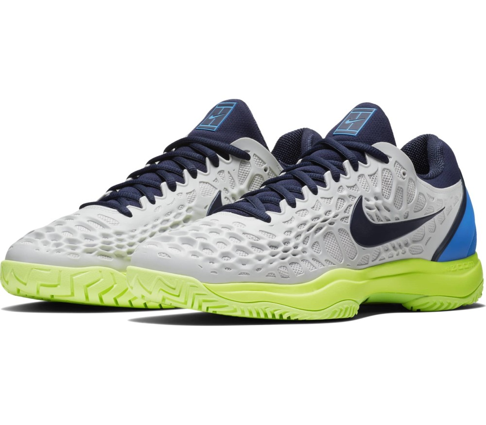 newest collection f3054 774ad Nike - Zoom Cage 3 Mænd Tennis Shoe (grå)
