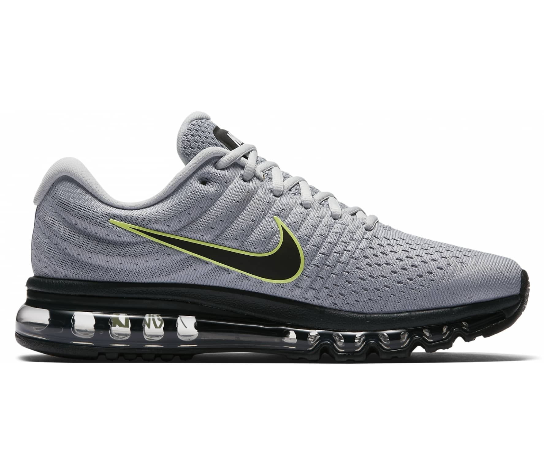 huge selection of 83366 9a2d4 Nike - Air Max 2017 Herren Laufschuh (grau schwarz)