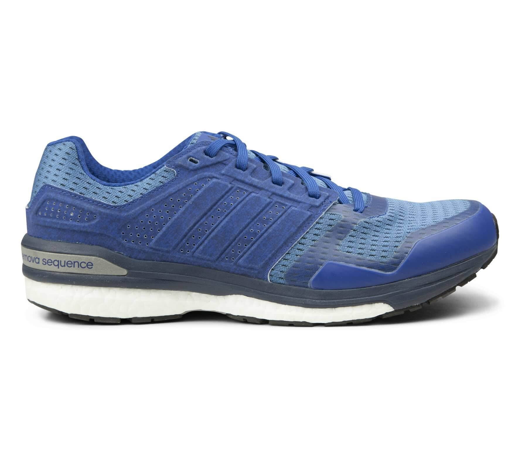 db00c543fcadd Adidas - Supernova Sequence Boost 8 Reflective men s running shoes (dark  blue)