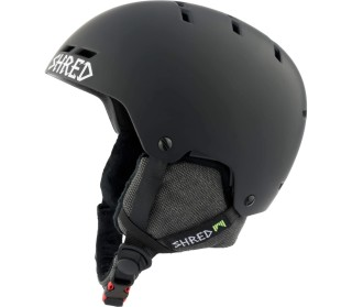SHRED Bumper Noshock Warm Blackout Skihelm Casco da sci