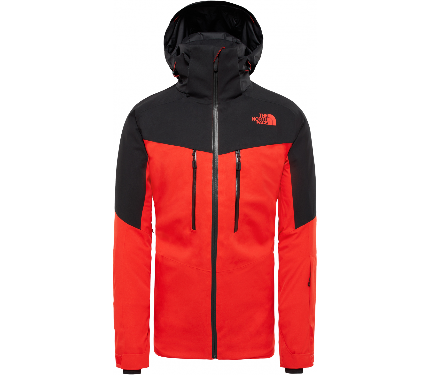 The North Face Chakal Men S Skis Jacket Red Black Buy It At