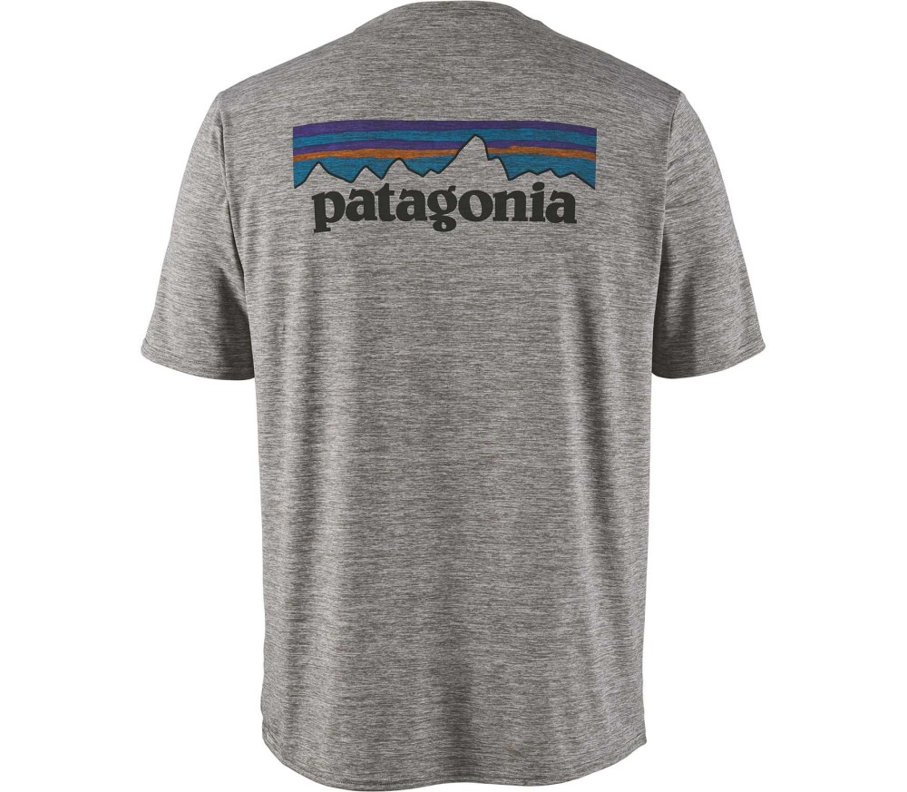 Patagonia Cap Cool Daily Graphic Herren silber