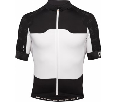 POC - AVIP Ceramic Shortsleeve men's Bike jersey (black/white)