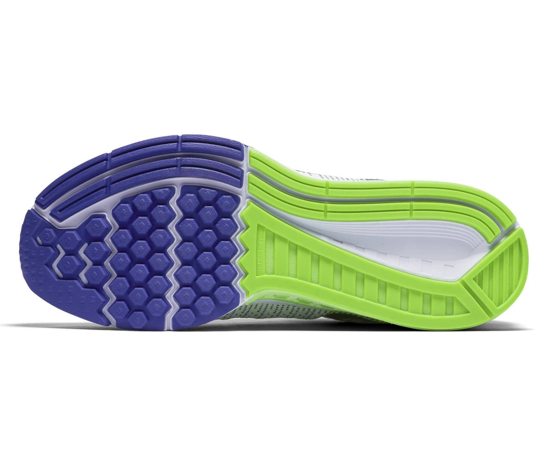 buy online e8a79 0fa1b ... authentic nike air zoom structure 19 mens running shoes grey purple  448f8 136e4