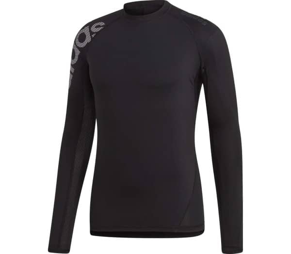 ADIDAS Alphaskin Sport Badge of Sport Herren Longsleeve - 1