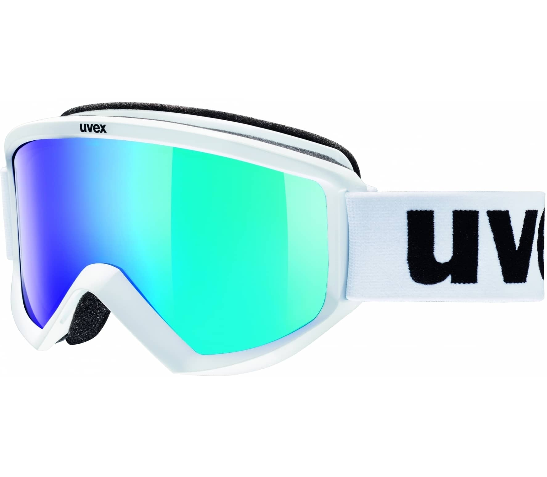 a21d2e32328 Uvex - Fire Mirror ski goggles (white) - buy it at the Keller Sports ...