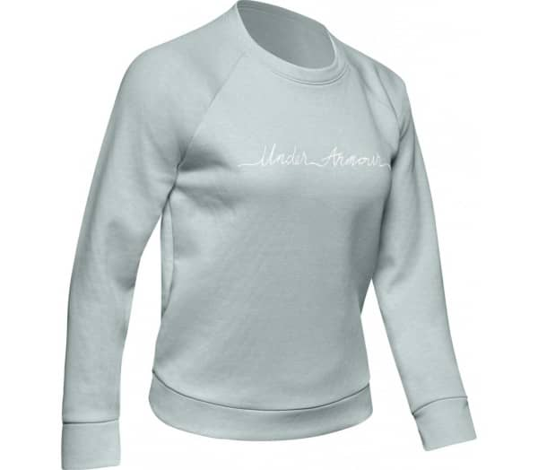 UNDER ARMOUR Recovery Fleece Script Women Top - 1