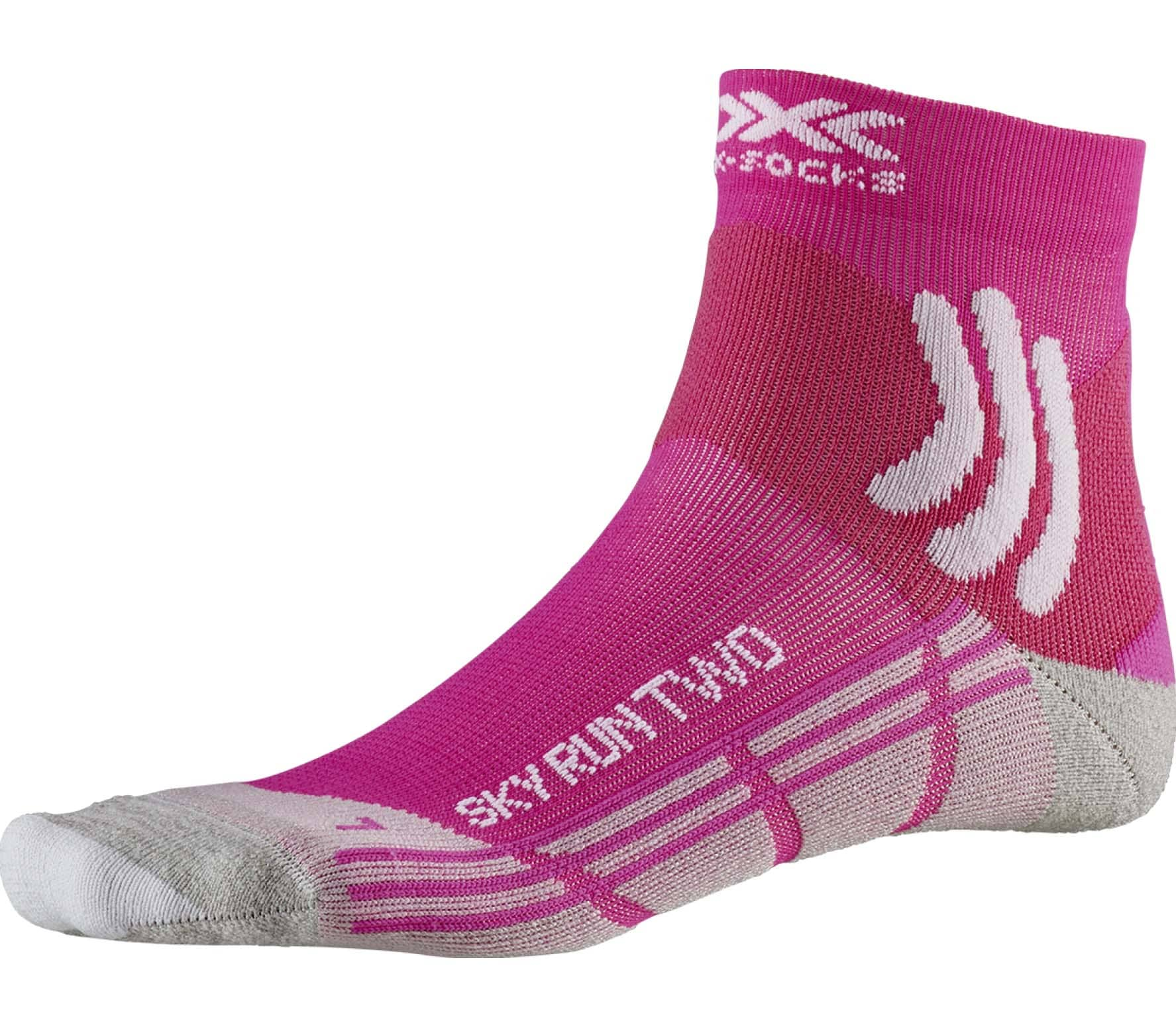 X-Bionic - Sky Two Femmes chaussettes (rose)