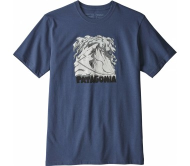 Patagonia - Cornice Canvas Responsibili men's t-shirt (blue)