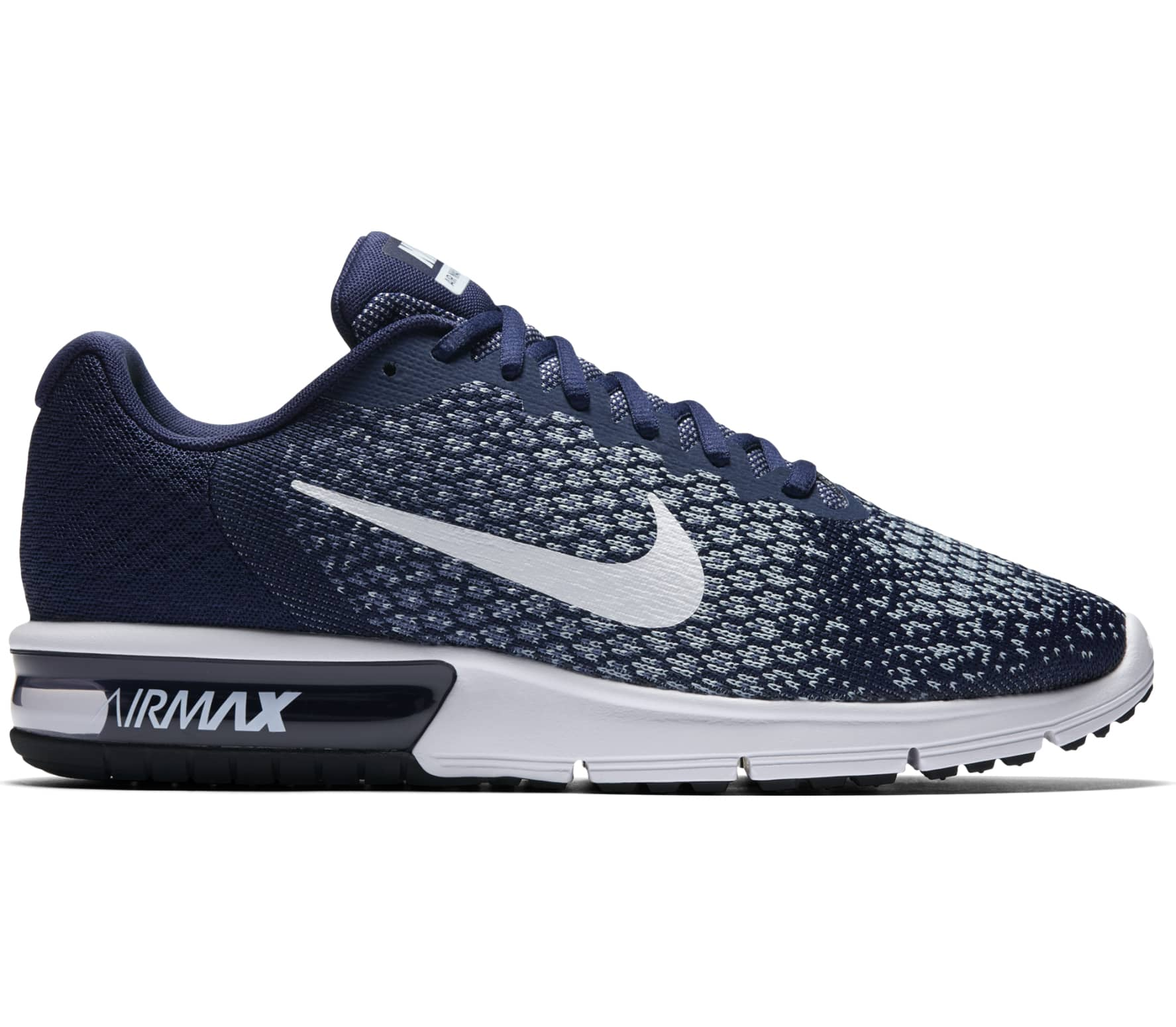 nike air max sequent 2 herren laufschuh blau im online. Black Bedroom Furniture Sets. Home Design Ideas