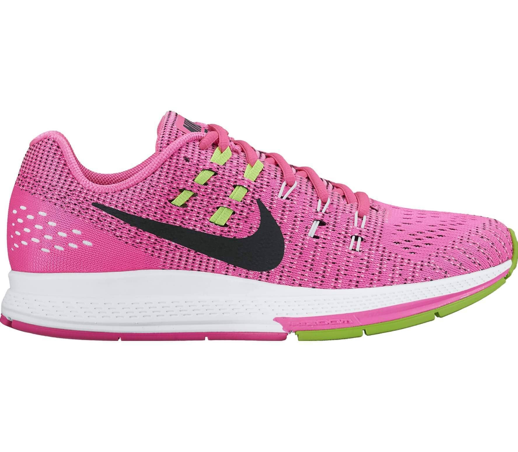 new concept 9c8c7 4172b Air Zoom Structure 19 women s running shoes (pink light yellow)