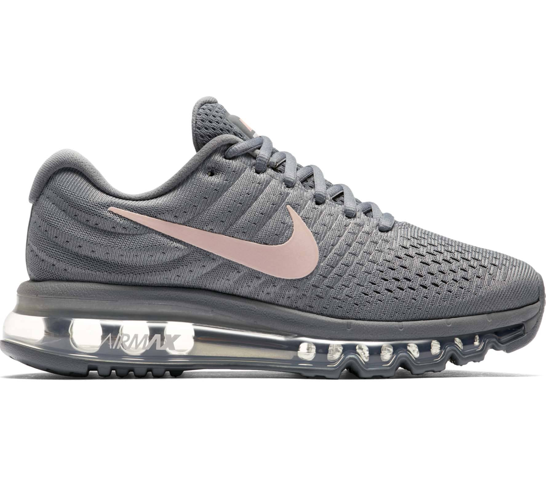 uk availability bfc0c 31cf1 Nike - Air Max 2017 Mujer Zapatos para correr (grisrosado)