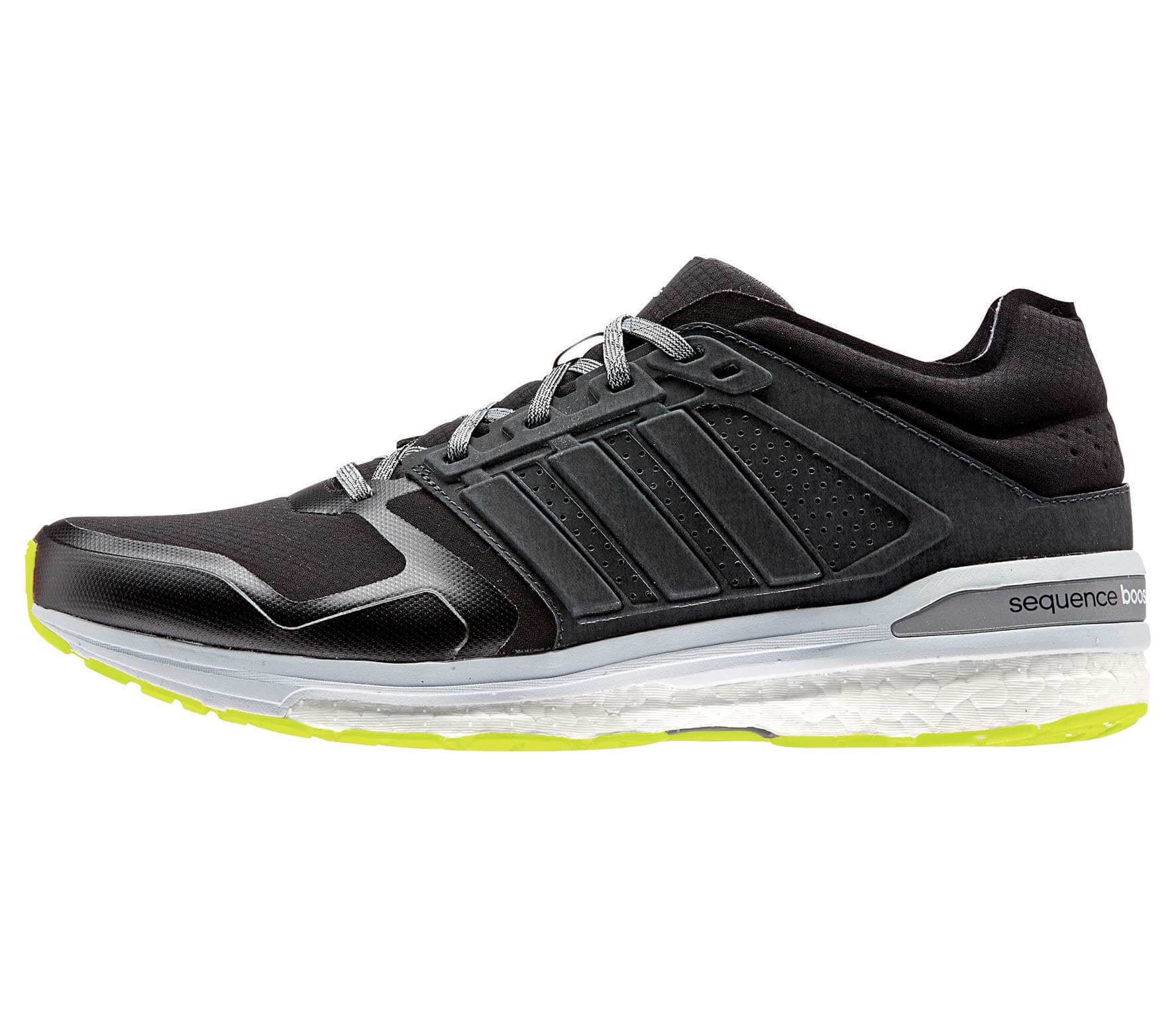 6fb98fe55 Adidas - Supernova Sequence Boost 8 Climaheat men s running shoes (black  yellow)