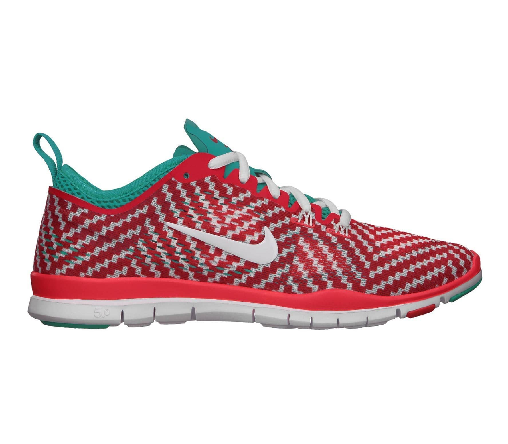 hot sale online 7800a 1f81b Nike - Free 5.0 TR Fit 4 PRT Damen Trainingsschuh (weißrot)