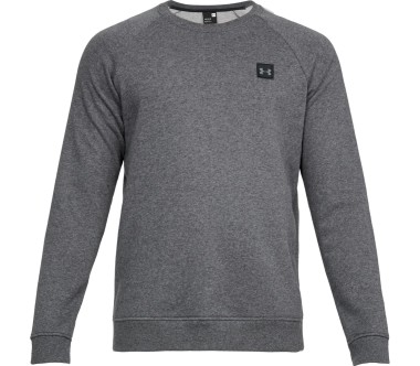 Under Armour Rival Fleece Crew Men silver