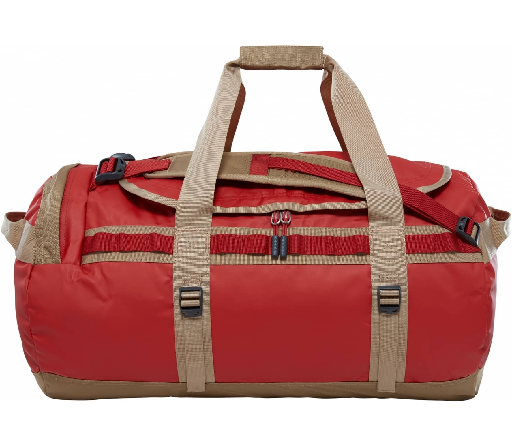 The North Face - Base Camp M duffel bag (dark red/red) thumbnail