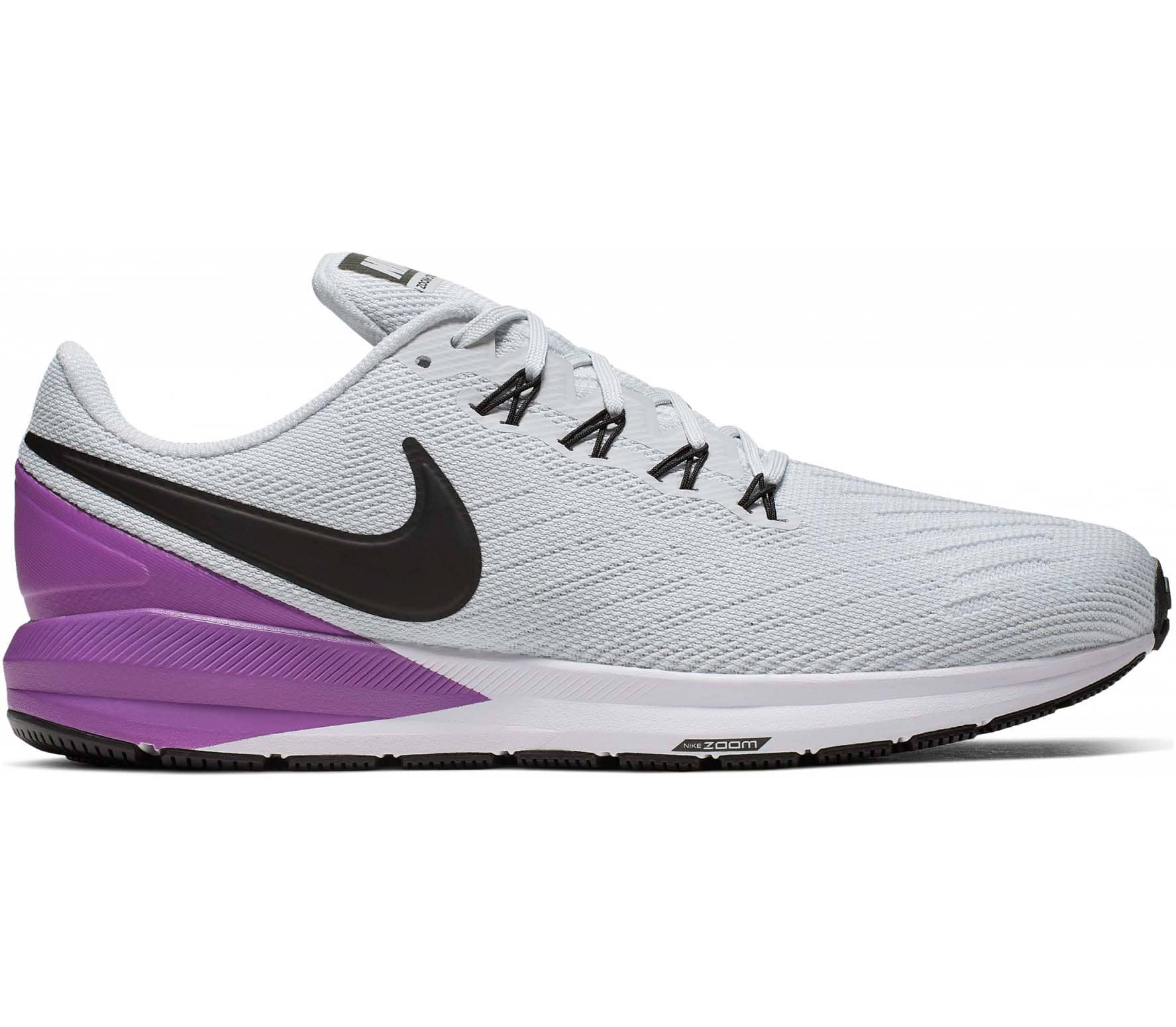 nouvelle arrivee 53957 c16ac Nike Air Zoom Structure 22 Men Running Shoes white